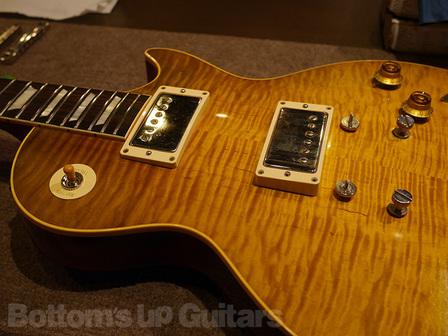 Gibson True Historic (Historic Select) Pickup 交換 東京店でGibson ヒストリックセレクト 2016年モデルのピックアップ交換を承りました。