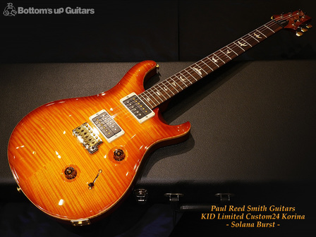 PRS Custom24 KID Limited 2013- Solana Burst - 10Top Flame Korina Back & Neck