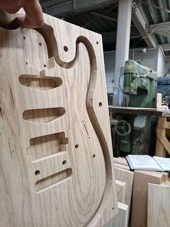 SAITO GUITARS S-622 JMC ボトムズアップギターズ オーダーモデル 木材選定!