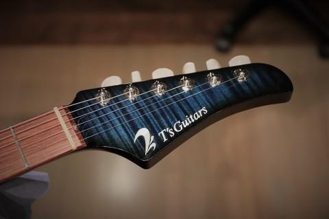 平成最後のメンテナンス作業は『T's Guitars(ティーズギター)の30周年記念モデルのマホガニーリミテッド』でした! 30th Anniversary DSTC Mahogany Limited.