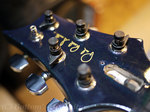 1994 PRS Custom24 Royal Blue 10top Faded Mother of Pearl Bird inlays