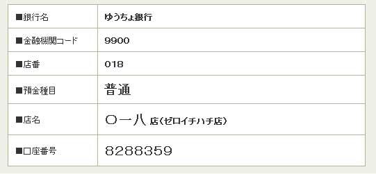 018 ゆうちょ 支店
