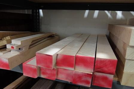 PRSプライベートストック オーダーメイド 木材選定 2017年 10月