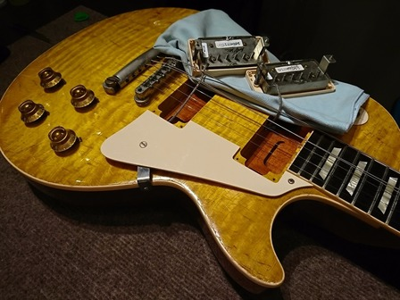 Gibson Historic Collection 1959 Les Paul Standard Aged Lemon Drop