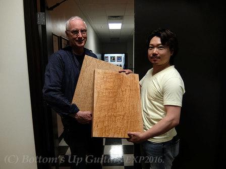 木材選定 ポールリードスミスギター アメリカファクトリー with Mr. Paul Reed Smith