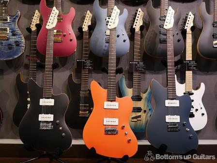 齋藤楽器工房が放つニューコンセプト・ソリッドギター S-622JMC ファーストロットがそろい踏み!