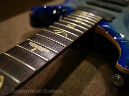 メンテナンス PRS 513 Faded Blue Burst リペア 修理 ご予約ください 丁寧に即日作業します 東京 田園調布 ギターショップ