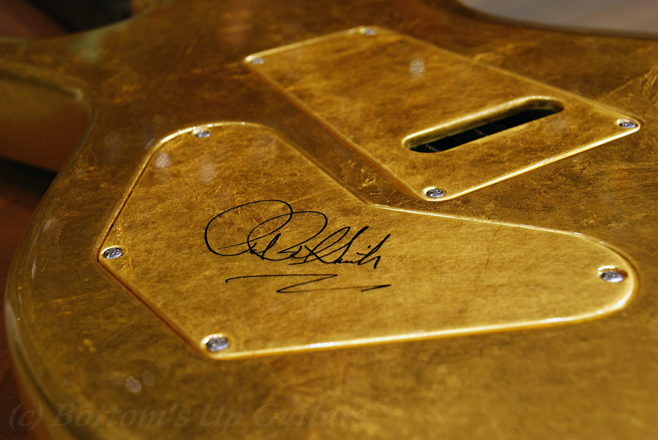 Private Stock Gold leaf Singlecut Trem