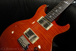 PRS SE Carlos Santana -Orange- with Santana III pickups (USA).