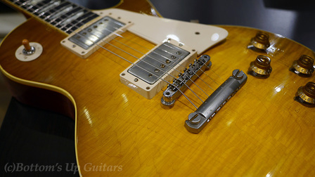 Gibson Custom Shop Collector's Choice with New Optiweb strings from Elixir エリクサーの新作弦オプティウェブを早速ギブソンレスポールに張ってみた。