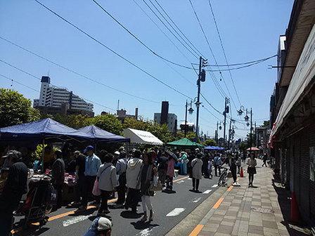田園調布フリーマーケット平成25年5月3日