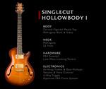 PRS Singlecut Hollowbody 1
